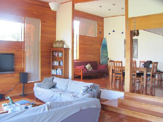 Karioi Lodge : Living room
