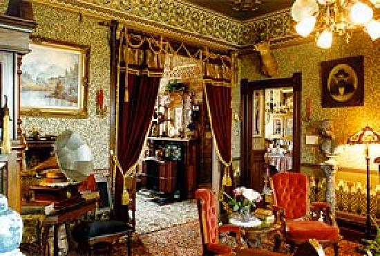 Abigail's Elegant Victorian Mansion - Historic Lodging Accommodations:  High-Style 1890's Victorian Interiors