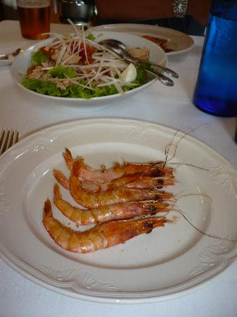 Getaria, Spain: Shrimps