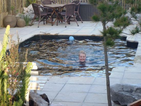 78on5th in Hermanus: Swimming Pool Area