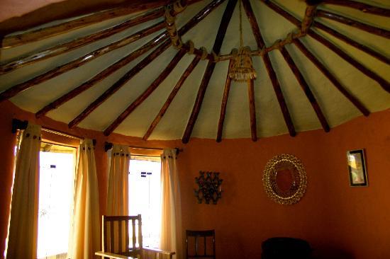 Hotel Kunturwassi Colca: La charpente apparente