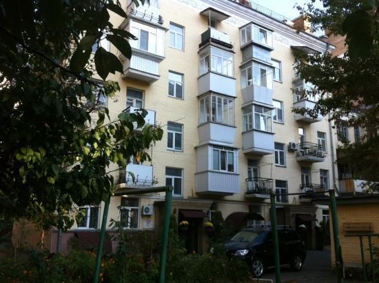 Sherborne ApartHotel : Sherborne Hotel entrance