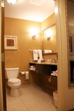 Comfort Suites Commerce: bathroom
