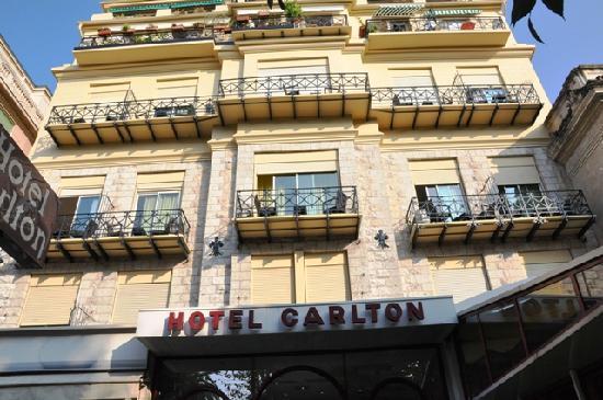 Hotel Carlton Nice : Hotel Carlton front view