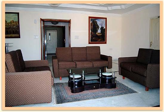 Mount Rose: living area