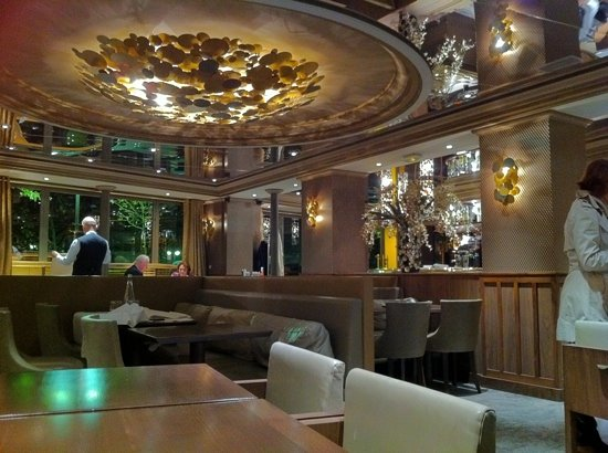 Le Vauban: lovely setting