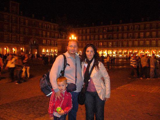 """Hostal Don Alfonso : a"""" plaza Major"""""""