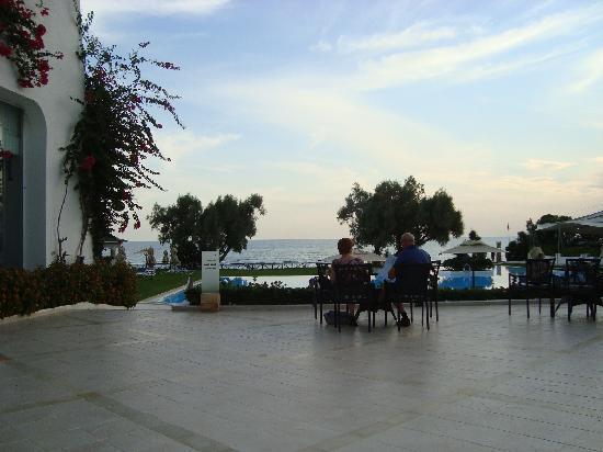 โรงแรมเลอซูลตาน: coin apéro....