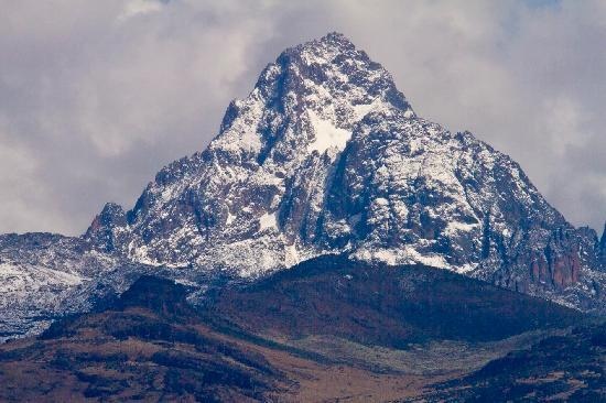 Fairmont Mount Kenya Safari Club: Mt Kenya view from room