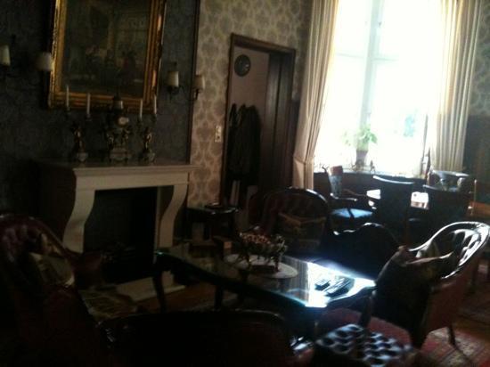 Hotel Villa Achenbach : гостиная