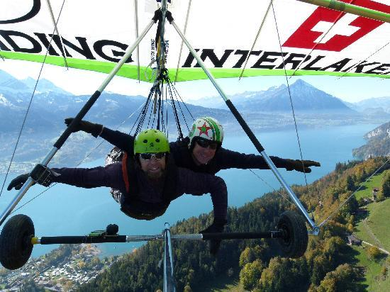 Hang Gliding Interlaken: yes, I can fly