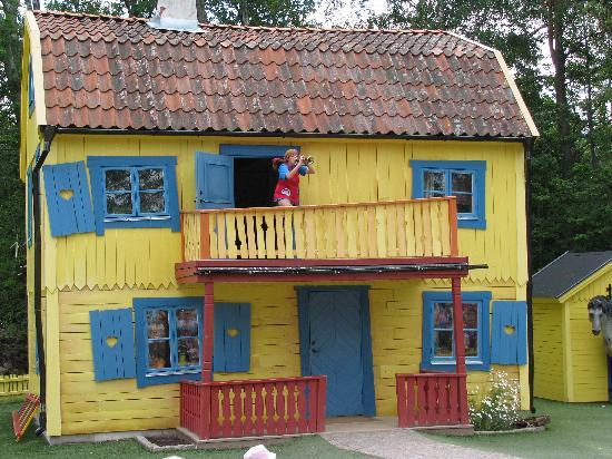 Vimmerby, İsveç: Pippi