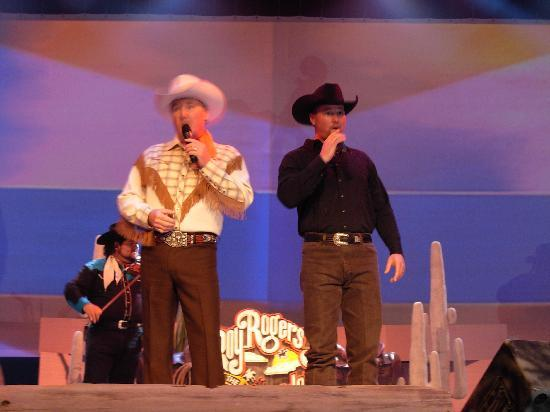 Mickey Gilley Theatre : Roy Rogers Jr and Dustin Rogers