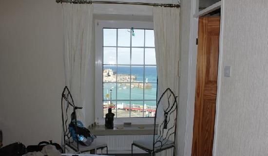 ‪‪The Rookery Guest House St. Ives‬: View from the window‬