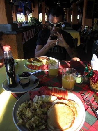 Hotel Arco Iris : la colazione