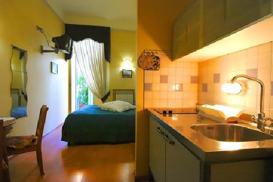 Bonapace Porta Nolana  Bed & Breakfast : Le nostre camere con angolo cottura