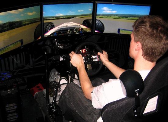 Racecentre: F1, V8, Drift, Rally Simulators