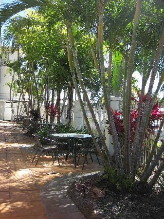 Endeavour Inn: Courtyard