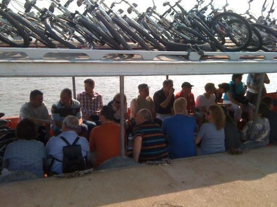 Recreational Bangkok Biking: at the Boat