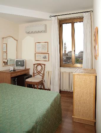 Hotel Duomo: camera torre mangia