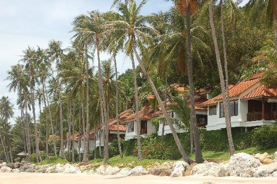 Belmond Napasai: Beach villas at Napasai