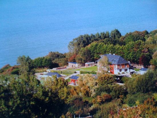 Villerville, Francia: chambres et cottage comme sur une ile