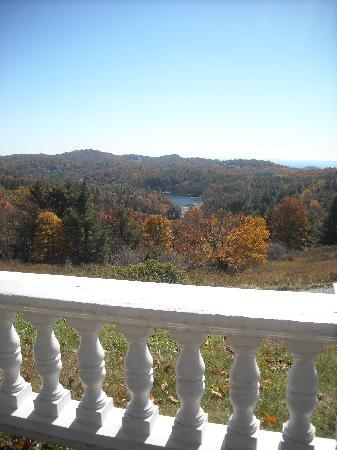 Blowing Rock, Carolina del Norte: A view from the balcony window
