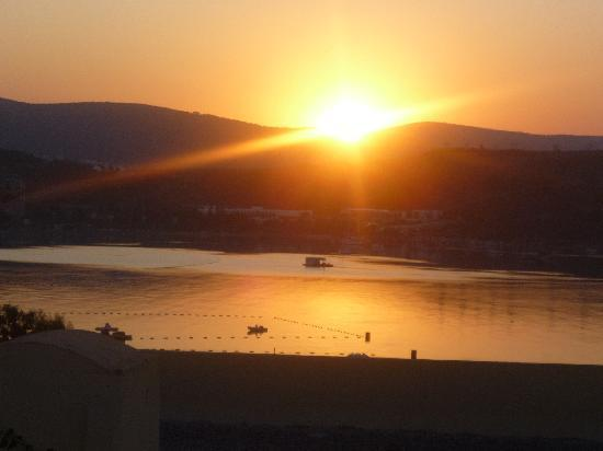 WOW Bodrum Resort: Turkish sunrise