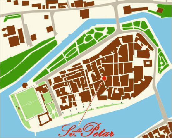 فيلا سانت بيتر: location