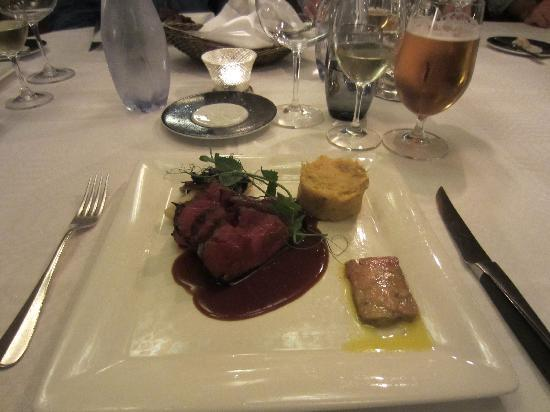 Arstiderna I Kockska Huset : Veal, Duck Liver, and Pumpkin-Potato