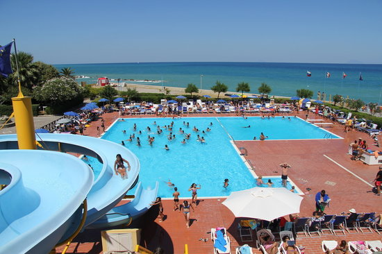 Piraino, Italien: Piscina