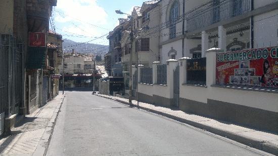 Calle Goytia, a la dcha (aunque no se ve bien) el Hotel Palma Real