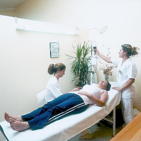 Natur-Med Thermal Springs and Health Resort: Oxygen Ozone Therapy