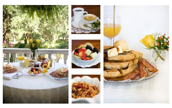 Forsyth Park Inn: Deliciouse Breakfast
