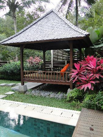 The Samaya Bali Ubud: Ayung villa - day bed & pool