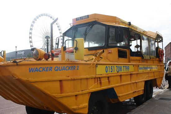 Yellow Duckmarine: vehicle