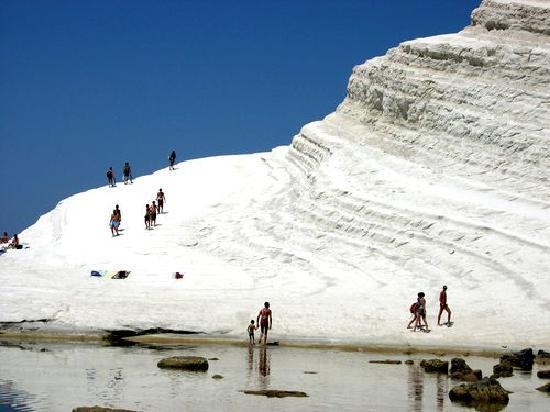 Villa Sogno Charme e Relax Selinunte: scala dei turchi