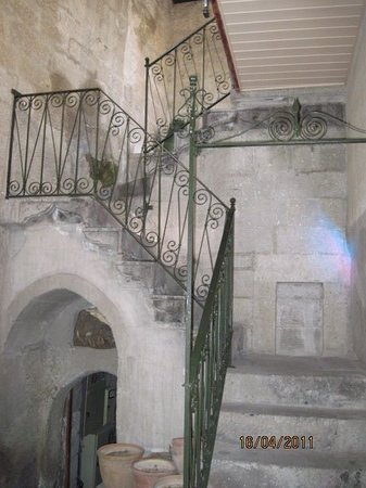 """Gul Konaklari - Sinasos Rose Mansions: Die """"Hühnerstiege"""" zu den oberen Räumen"""