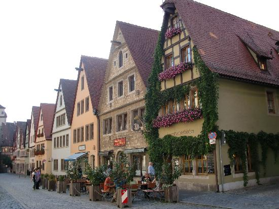 le pittoresche vie di Rothenburg