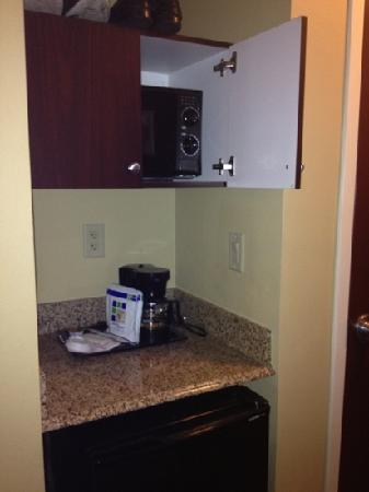 Holiday Inn Express Hotel & Suites Orlando South-Davenport: regular rooms have microwaves an mini fridge
