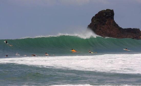 Empalme a Las Playas: Playa Maderas crankin'