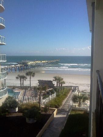 Beach Quarters Resort: Our view