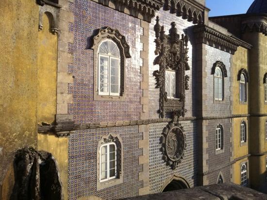 Sintra, Portugal: palacio de la pena