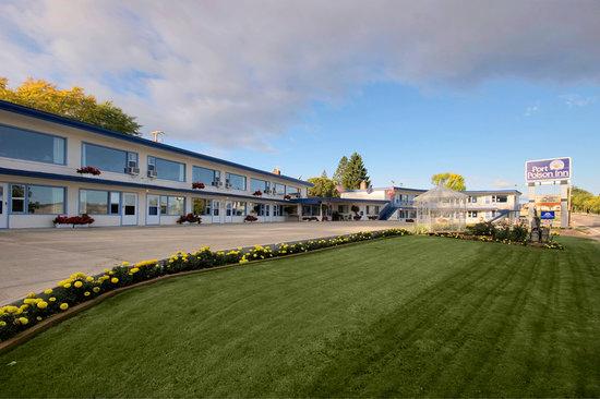 Americas Best Value Port Polson Inn: Main Exterior