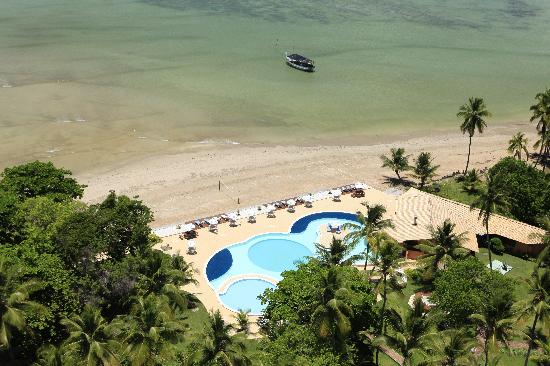 Karapitangui Praia Hotel: Location