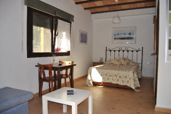 Casa Rural Los Pepe: habitación del estudio
