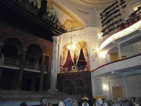 Ford's Theatre: The booth Lincoln was shot in