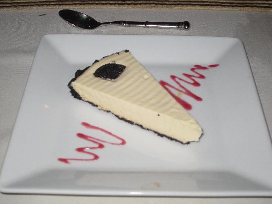 El Mirador Bar & Restaurant: Bailey's cheesecake.