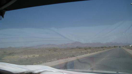 Al Sharqiya Sands: la strada