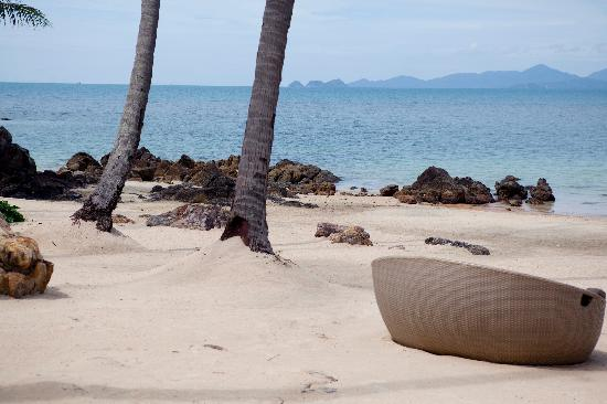 Four Seasons Resort Koh Samui Thailand: private beach